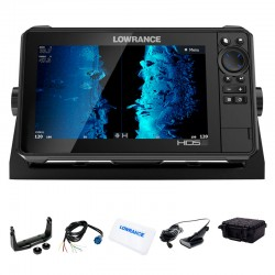 Lowrance HDS 9 LIVE con Transductor HDI 50/200 CHIRP/DownScan