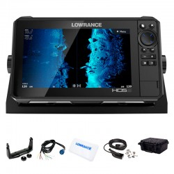 Lowrance HDS 9 LIVE con Transductor HDI 83/200 CHIRP/DownScan
