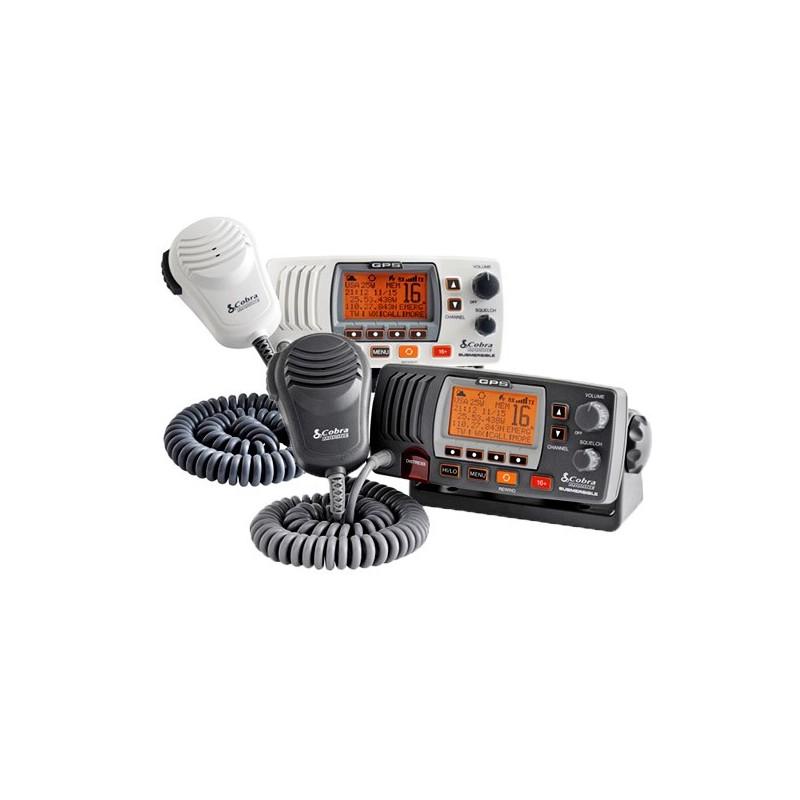 Cobra Emisora VHF MR F77 con DSC, GPS