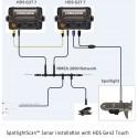 Transductor SPOTLIGHTSCAN LOWRANCE Sonda 360º