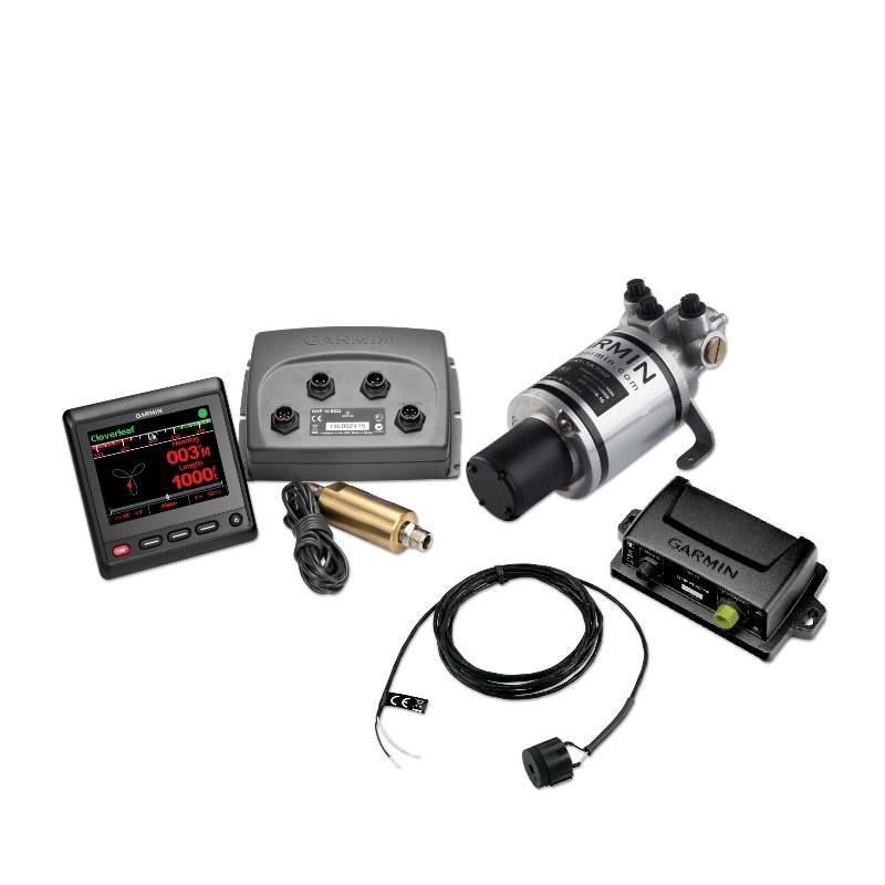 Pack Avanzado Garmin Piloto Automático Hidráulico GHP COMPACT REACTOR con GHC 20 y Shadow Drive