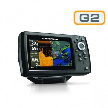 Humminbird Helix 5 DI Sonda GPS G2