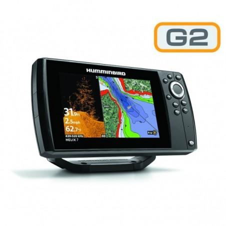 Humminbird Helix 7x DI Sonda GPS G2