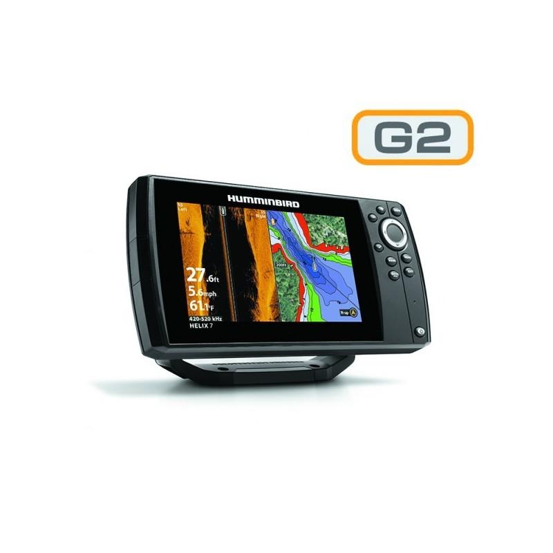 Humminbird Helix 7x SI G2 Sonda GPS