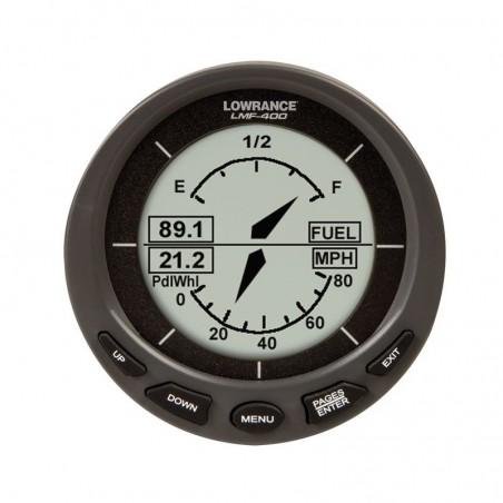 Medidor Digital Lowrance LMF 400