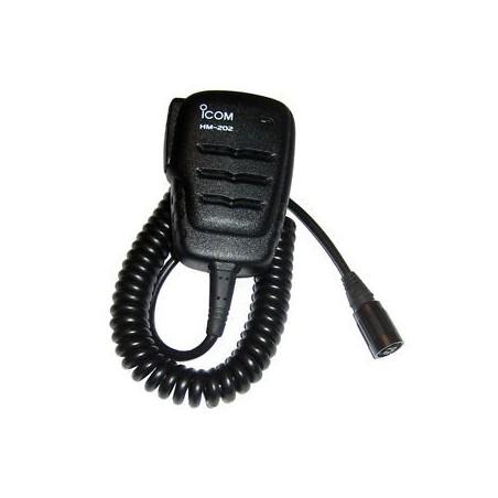 Icom HM-202 Microfono Altavoz de Mano IPX7