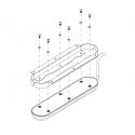 Soporte Instalación Plano Transductor TotalScan o StructureScan 3D