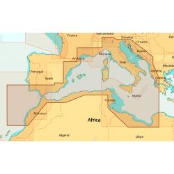 Cartografia C-MAP 4D WIDE