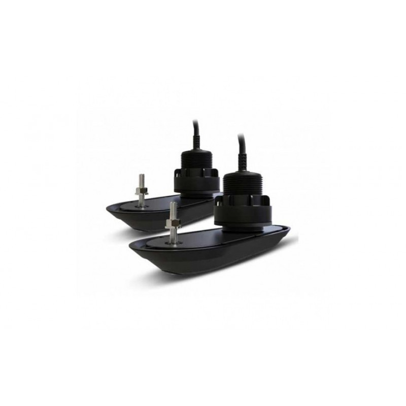 Pack 2 transductores Raymarine RV-312 pasacascos 12º