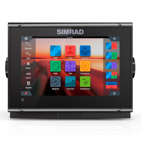 Simrad GO7 XSR + Transductor CHIRP Airmar TM150M
