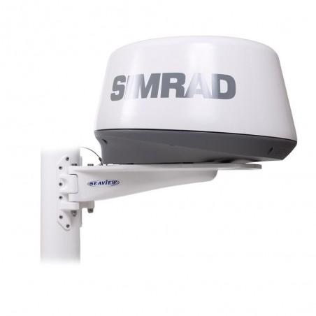 """Seaview SM-18-R Soporte de mástil para radares 18"""""""