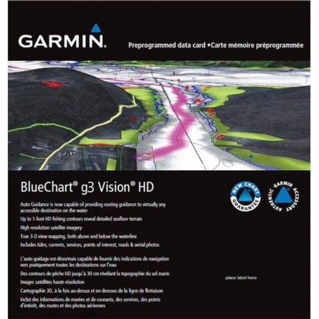 Cartografia Garmin Bluechart G3 Visión SMALL