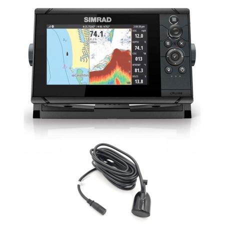 "Simrad Cruise 7"" 83/200 kHz Sonda GPS Plotter"