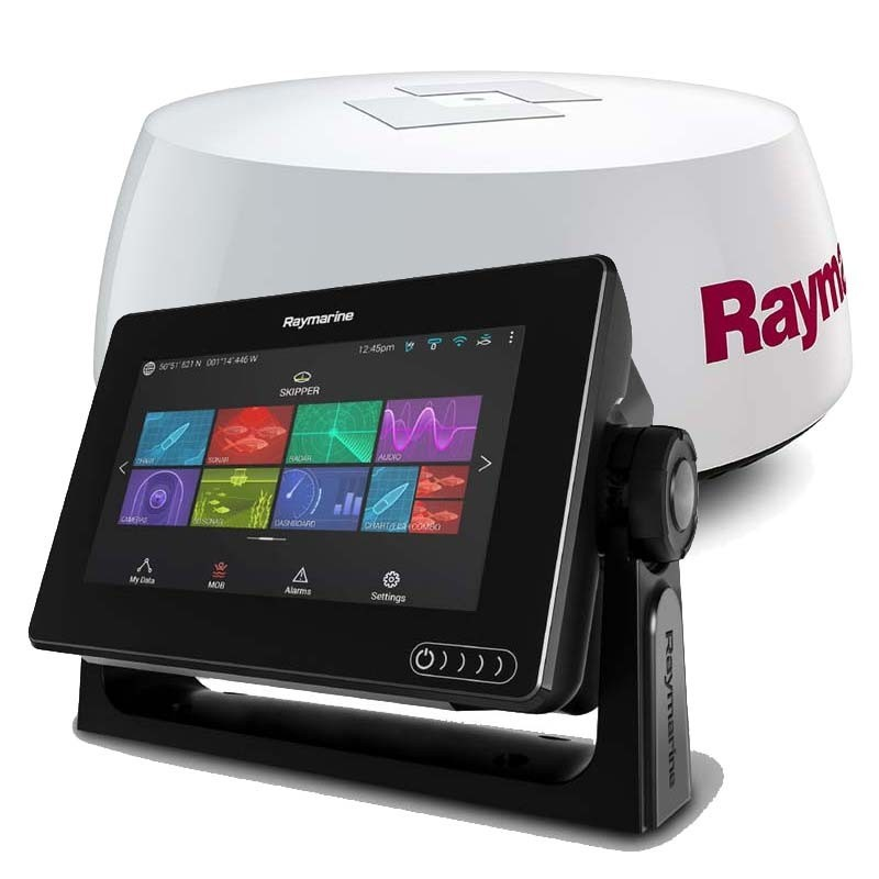 Pack Radar Raymarine AXIOM 7 con Radar Quantum