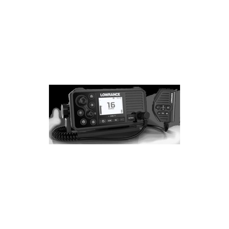 Lowrance Emisora VHF Link 9 GPS con DSC AIS