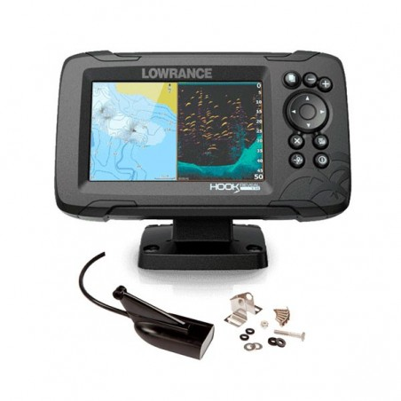 Lowrance Hook Reveal 5 HDI 83/200 CHIRP DownScan