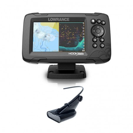Lowrance Hook Reveal 5 HDI 50/200 CHIRP DownScan
