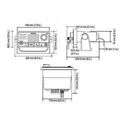 Emisora VHF Raymarine Ray73 GPS DSC