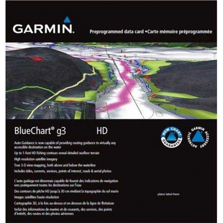 Cartografia Garmin Bluechart G3 REGULAR