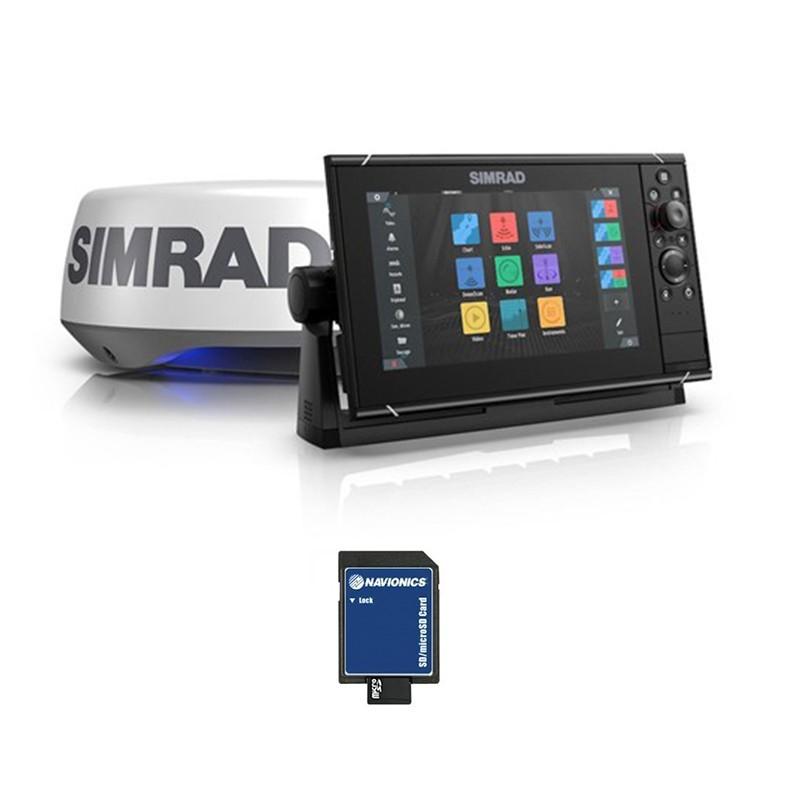 Pack Simrad NSS9 EVO3S + Radar Halo20+