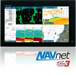 "Furuno NavNet TZtouch3 19"" Sonda GPS Plotter Multifuncion"