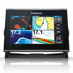 Simrad GO9 XSE con Transductor HDI 83/200 CHIRP/DownScan