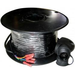 Cable (50m) + Conector p/veleta Raymarine