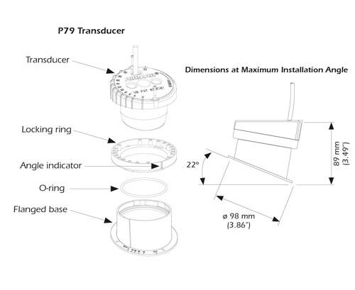 airmar p79 dimensiones