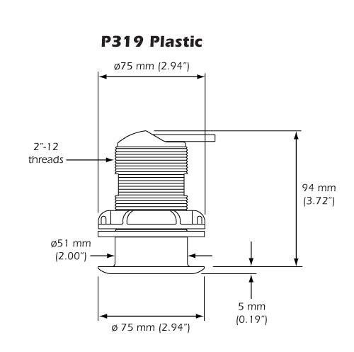 Transductor Airmar P319