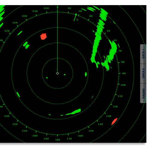 Furuno target analyzer