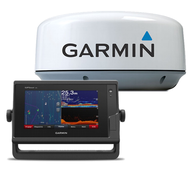 Pack Garmin GPSMAP 722xs + Antena Radar
