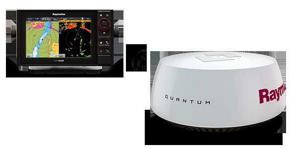 radar inalambrico raymarine quantum