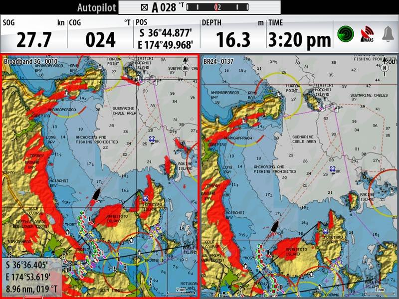 Simrad Radar Broadband 3G