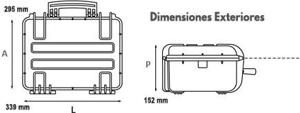 maletin transporte sonda gps plotter